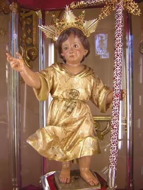 niño jesus de Mula